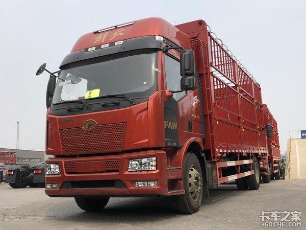 6米8载货车当红车型,零担普货绿通运输,有解放J6L就够了