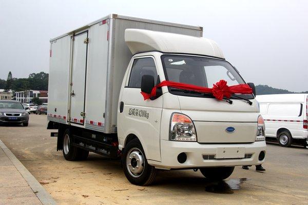 微卡车身轻卡装载 开沃K10纯电货车图解