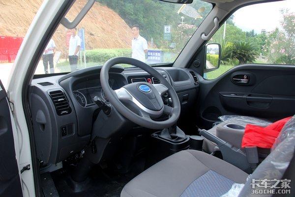 """微卡车身却有轻卡装载力!这款13万的开沃纯电车小个头却""""力大无穷"""""""