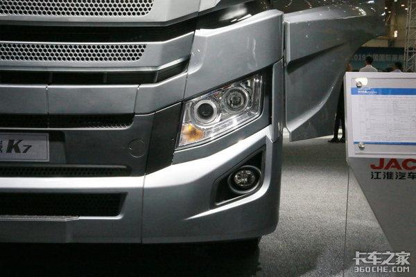 国六560马力比肩进口卡车AMT格尔发K7定义高端物流
