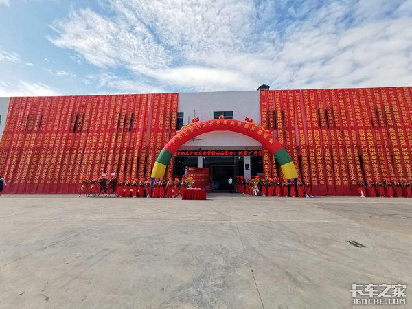 广州安豪新店开业主营重汽HOWO轻卡占地更广售后无忧