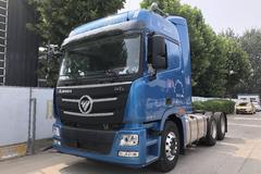 国产智能卡车 实拍福田欧曼GTL牵引车