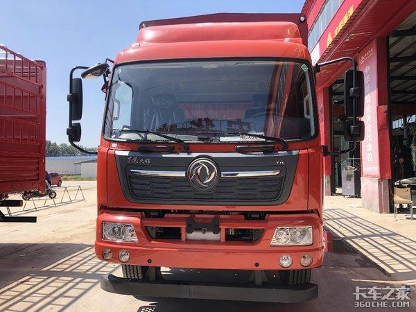 东风天锦6米8载货车干运输买它不香吗