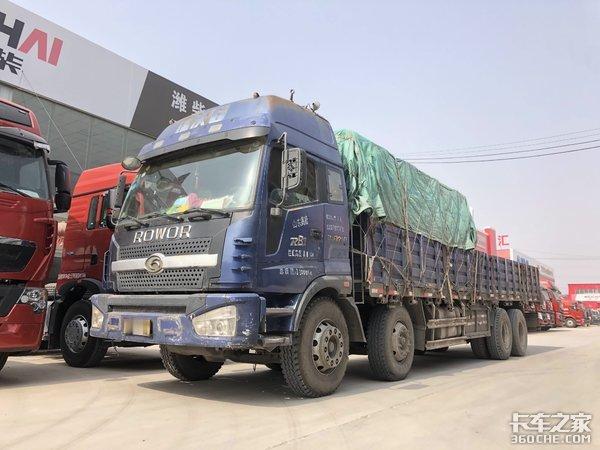全国保有量不超50台,老一代福田瑞沃6RB1载货车亮点颇多