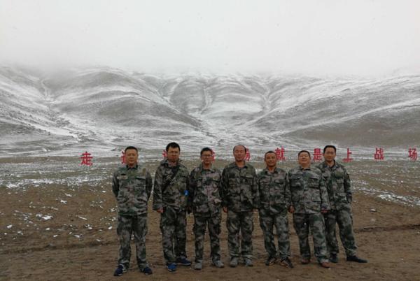 我心中的蒙古马――记北奔试验团队