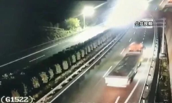 加小油致货车高速20km/h龟速行驶司机被罚200记3分冤不冤