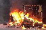 江西一货车自燃整车快递被烧毁 司机一定要警惕这几个方面