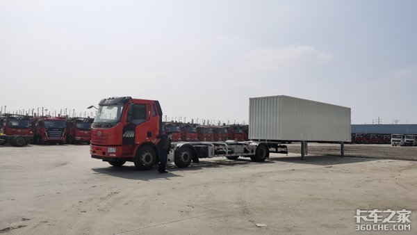 送货更快更安全,甩箱车助力现代物流运输供应链搭建