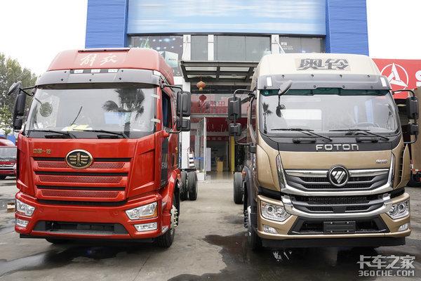 同样都是两轴载货车J6L和奥铃大黄蜂这两款车你怎么选?