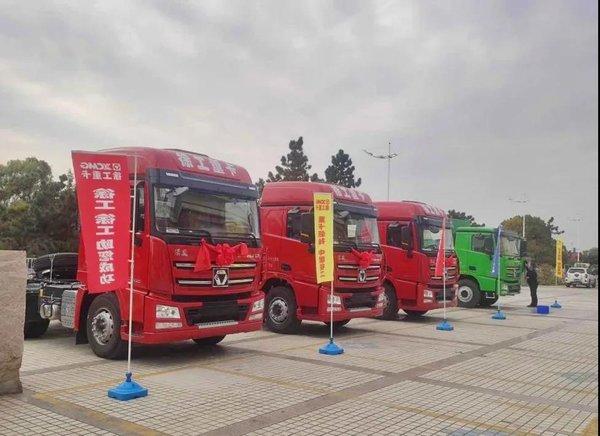 赚钱靠利器!65台汉风G7超轻版牵引车成交!