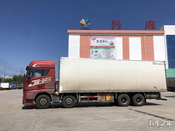 解放JH6冷藏车跑云贵川,气囊桥都安排上了,为啥不装液缓?