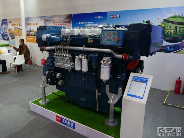柴油机比人高涡轮叶片比手掌大细数本届发动机展七大之最