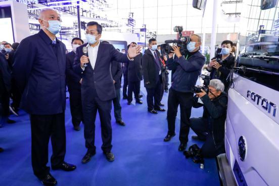 福田2020世界智能网联汽车大会大放异彩