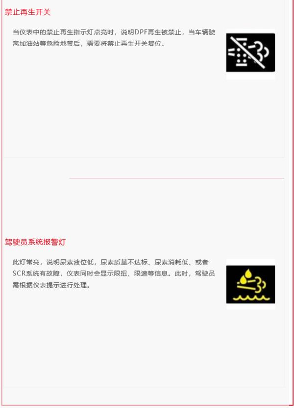 国六讲堂|搞不懂国六指示灯及故障码?看这里