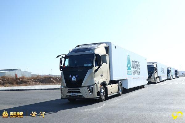 黄河重卡跟车体验4:车货总重超48吨油耗竟然可以到30L左右