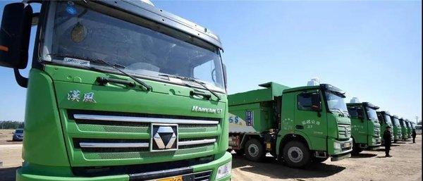 汉风G7环保渣土车苏州市场收获百台订单