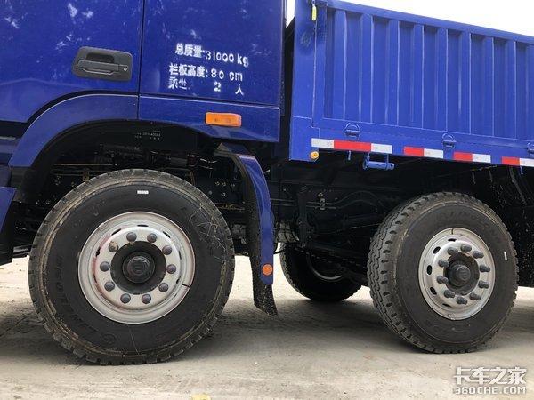 车高不到3.2米,跑国道不怕限高杆,实拍欧曼GTL载货车