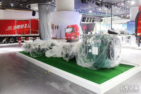 广州车展:解放三款新车亮相还有J7和生活舱等热门车型