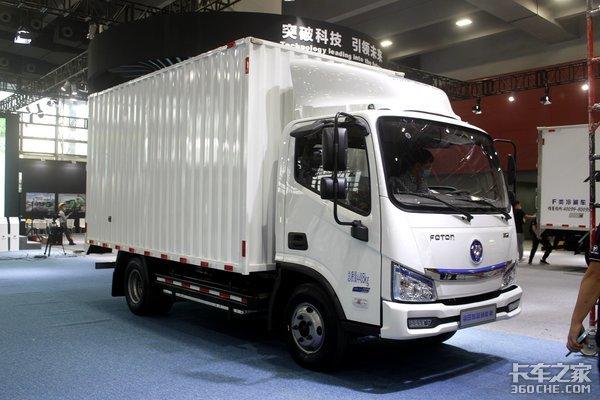 广州车展:探馆福田展台时代领航ES7携福田家族车型亮相