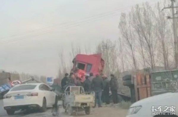 直行货车为躲避拐弯轿车发生车祸,凭什么都在指责货车司机?