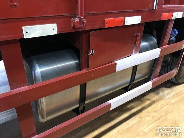 9米6载货配平地板驾驶室陕汽L3000亮相广州车展