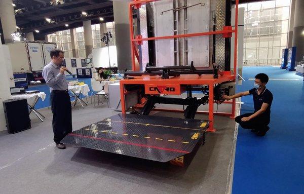 做好产品服务物流凯卓立最新汽车起重尾板1Tplus重磅发布
