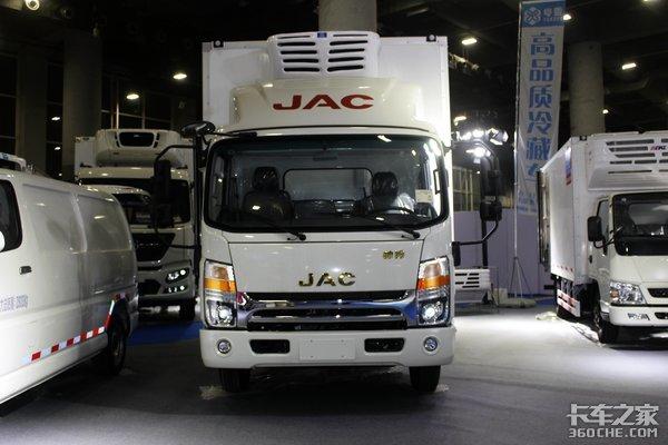 广州车展:粤雪冷藏车展台详解四款冷藏车型亮相