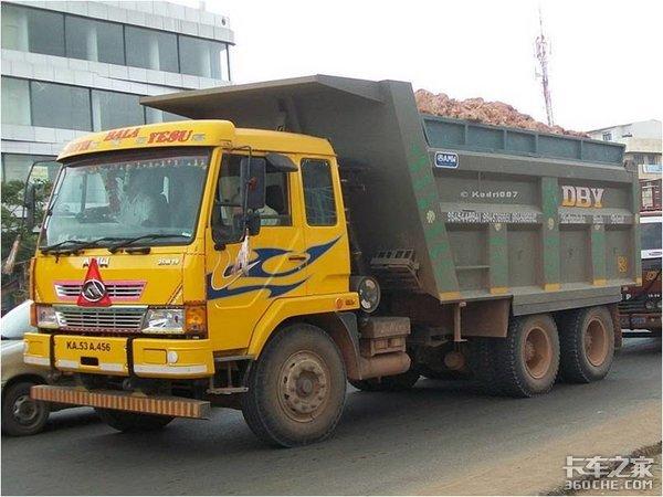 """盘点中国卡车在国外的""""孩子"""",哪个你看着最眼熟?"""