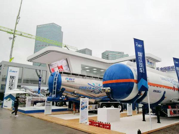 中集瑞江:智能化罐车亮相上海宝马展