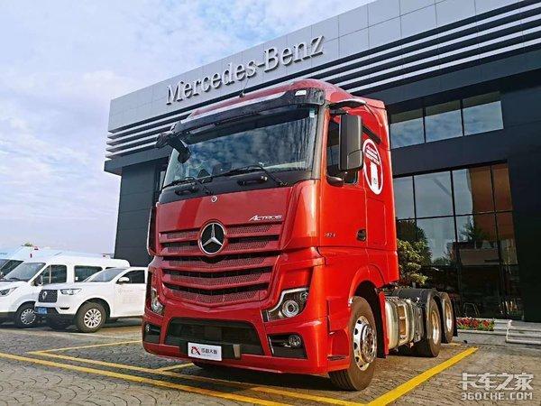 新车型引入多渠道加强服务提升奔驰卡车销量创新高