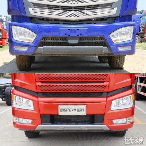 解放J6P和福田欧曼EST,这两款8x4栏板运输车你选谁?