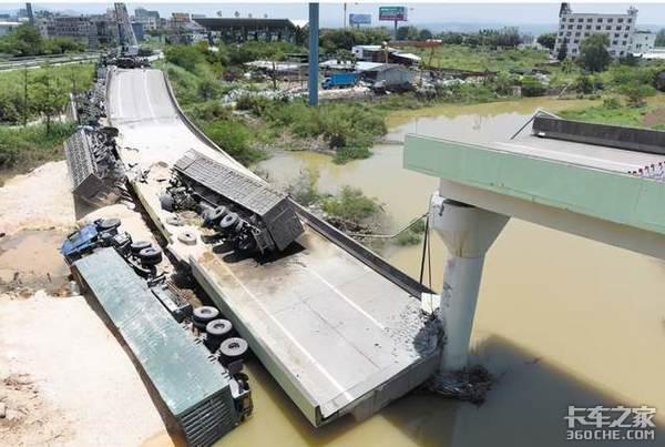 """毁车断桥家破人亡!别让超载把你的货车变""""祸""""车"""