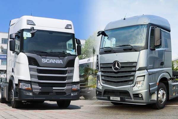 都是进口变国产!斯堪尼亚和奔驰两种不同的模式你更好看谁?
