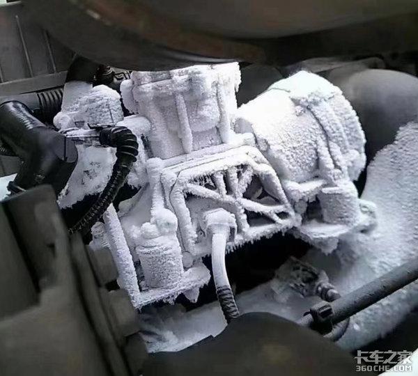 这些配件被冻坏不赔!LNG卡车要注意了别小看异常结冰
