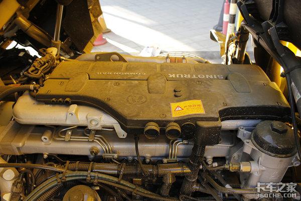 280马力发动机还有71方强装载汕德卡G5大单桥跑快递太实用