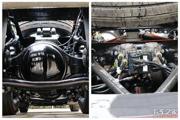 东康560马力匹配AMT这台国六格尔发K7驾驶室堪比星级酒店