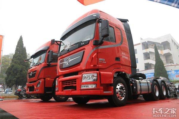 14升排量最大600马力的输出新天龙旗舰KX打造真正夫妻车
