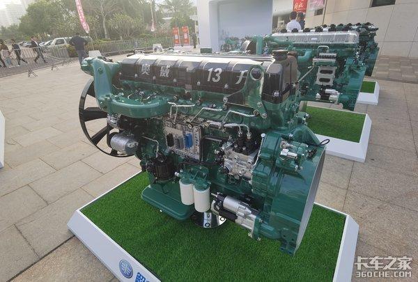 570马力13L燃气机是亮点!速看解放动力中重卡发动机全阵营