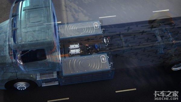 沃尔沃终于出手了,VNR电动重卡明年上市,大头造型你喜欢么?