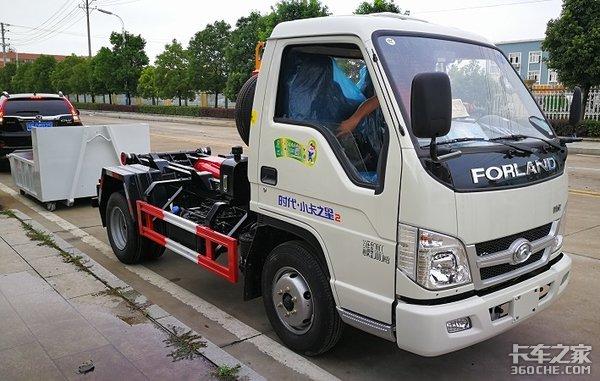 建筑废料专运时代金刚垃圾车真能装