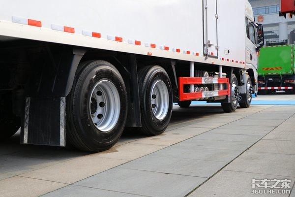 气囊后桥多装1吨X50008x4冷藏车图解