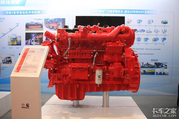 谋定思变赢领国六东康将推新品15L燃气机AMT变速箱齐上阵