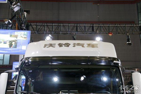国六520马力ZFAMT配ZF液缓庆铃巨咖有多能秀?