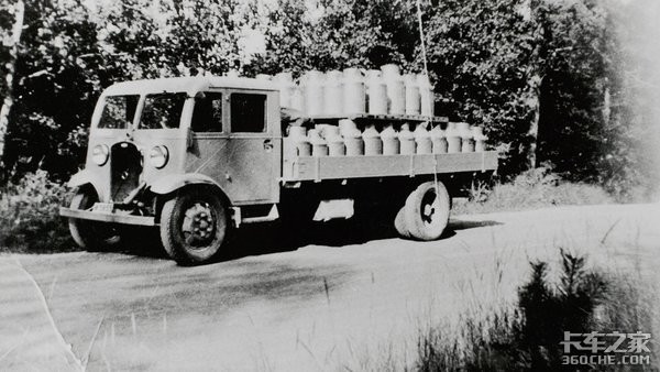 看腻了沃尔沃豪华卡车?带你看看它80年前造的车长啥样