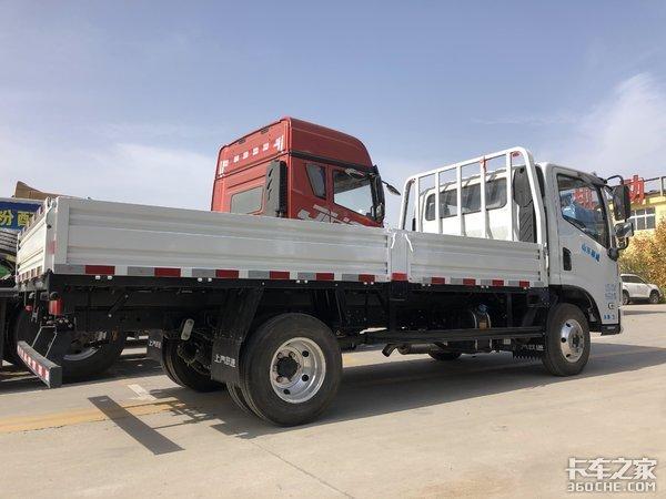 能拉1.7吨货跃进C500轻卡合规上蓝牌