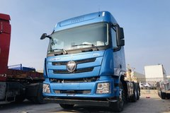 自重仅7.9吨 实拍欧曼GTL质享版牵引车