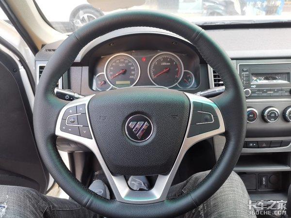 轿车的舒适性,微卡的承载力,福田小货郎皮卡了解一下