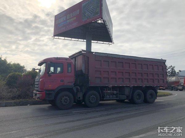 """100公里跟车体验江淮格尔发自卸车,8年老车还这么""""猛"""""""