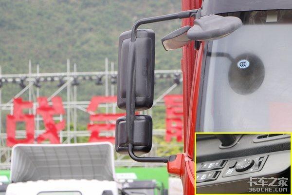 16.2万入手的解放J6L国六220马力主驾驶椅标配通风可选加热