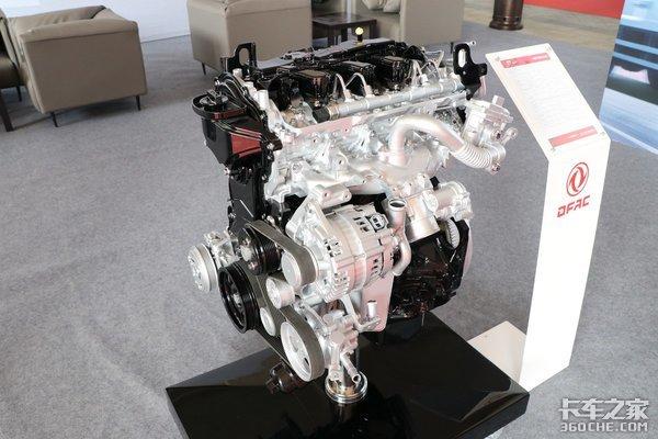 车市速看:覆盖轻卡市场所需136-163马力东风M9T系列国六发动机